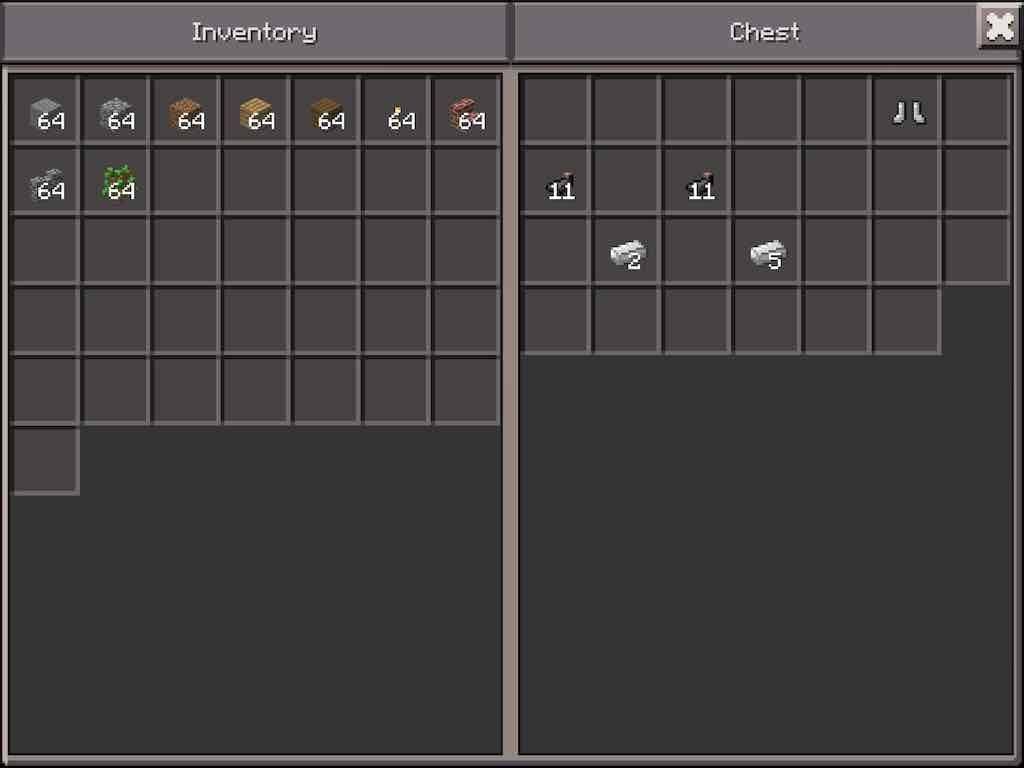Blacksmith Loot - MCPE