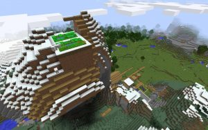 High Altitude Farm Minecraft Seed