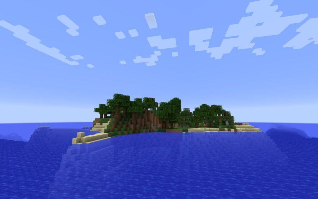 Ocean Monument Spawn Island