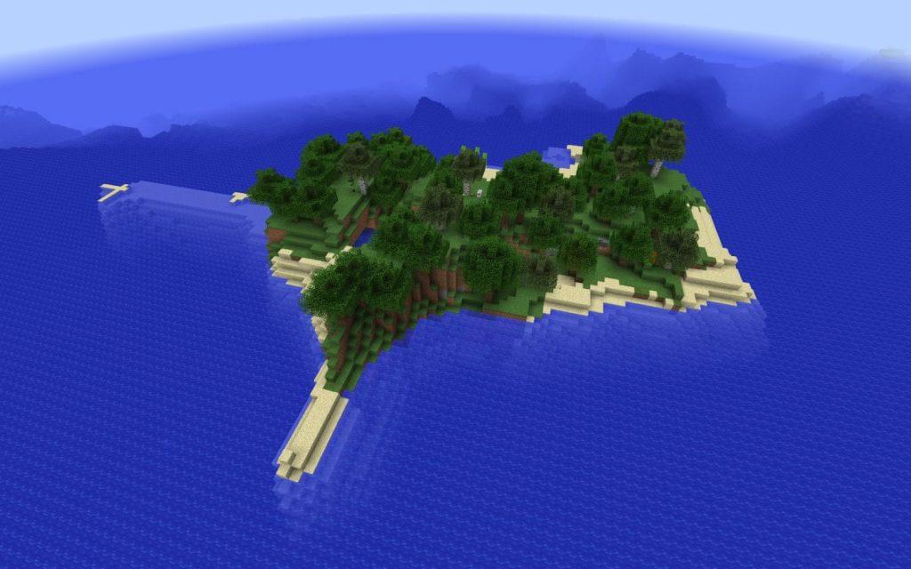 Deep Ocean Island