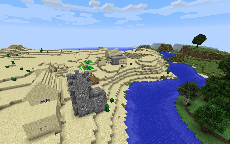 Iron Village in the Desert