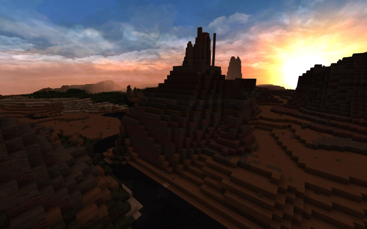 Mesa Biome Minecraft Optifine Conquest Texture Pack
