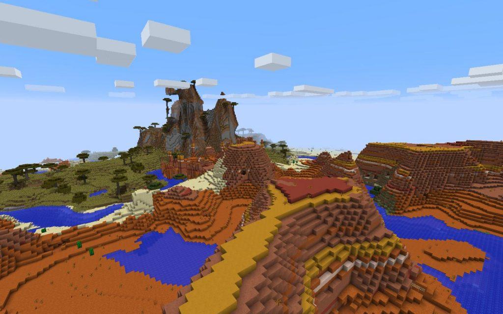 Beyond the Mesa Biome