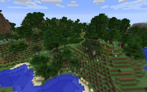 Dense Flower Forest - Minecraft Seed