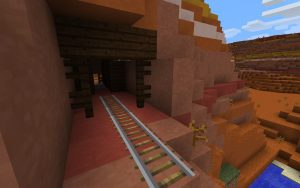 Mesa with Abandoned Mineshafts Seed