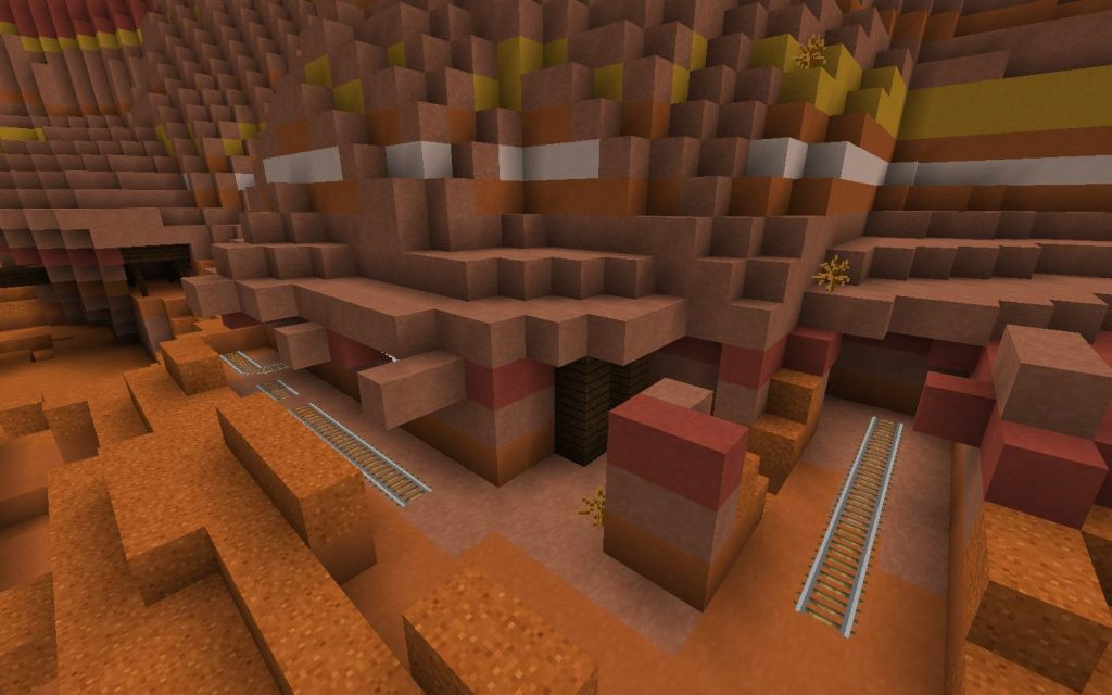 Mesa Rails and Mineshaft Entrances