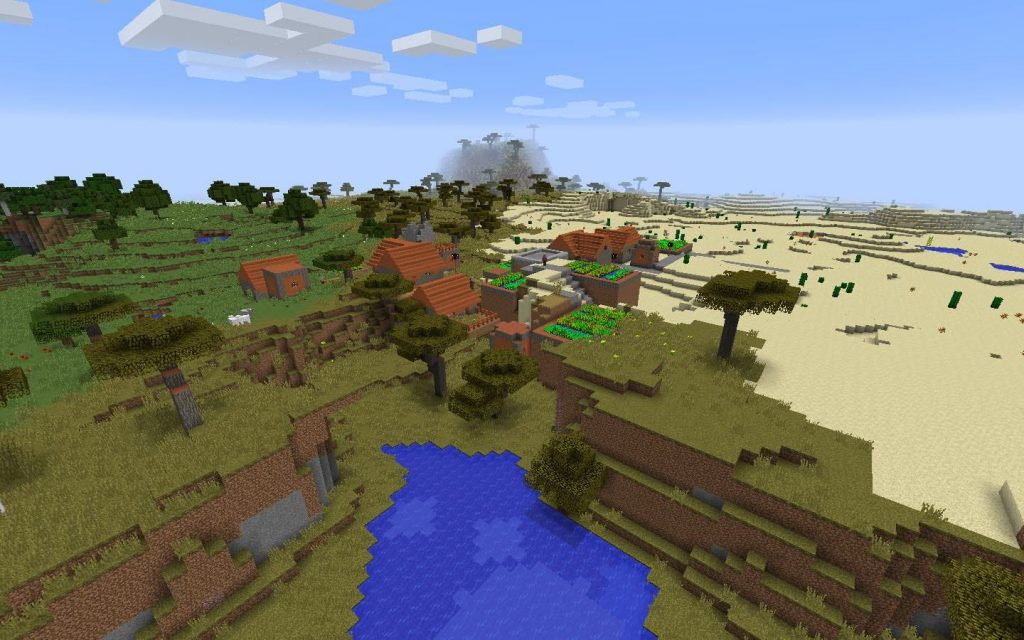 Minecraft Savanna Village Seed