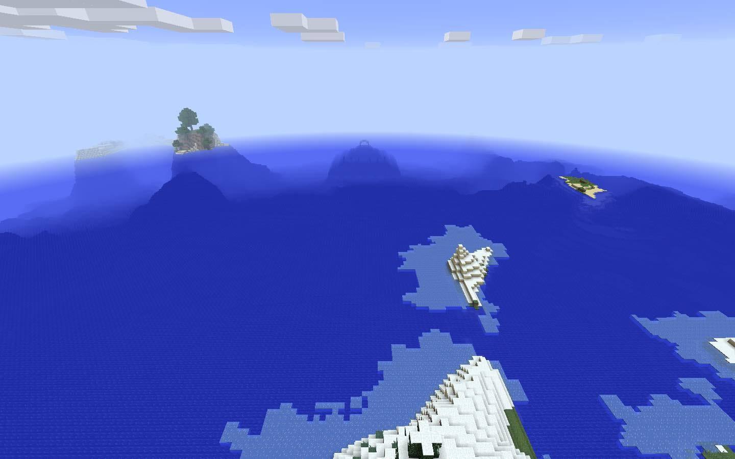 Minecraft Ocean Monument Seed