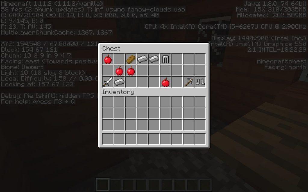 Blacksmith Loot - Savanna Village Minecraft