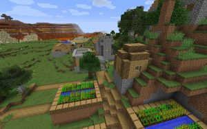 Blacksmith Village Minecraft Seed