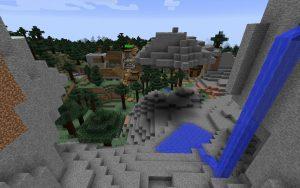 Minecraft Dark Oak Blacksmith Village Seed