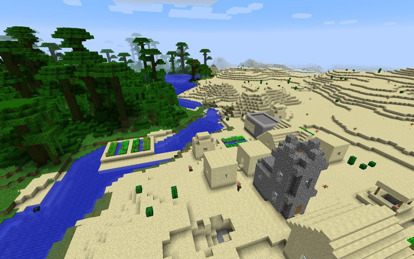 Jungle Seed Desert Village
