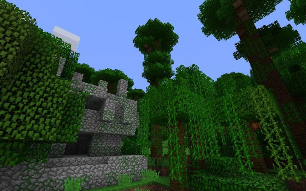 Outside the Jungle Temple
