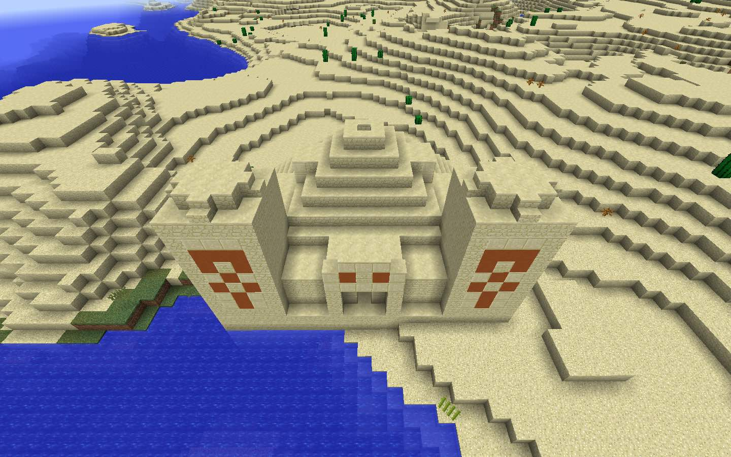 Minecraft Temple Gold Seed
