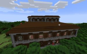 Woodland Mansion Minecraft Seed