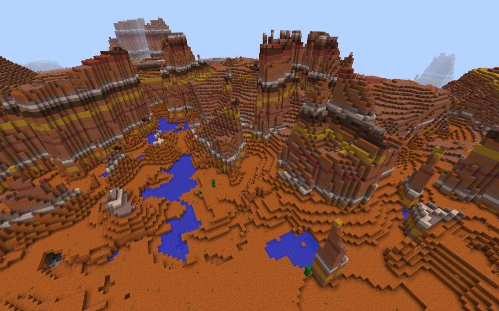 Bryce Mesa Formations - Minecraft