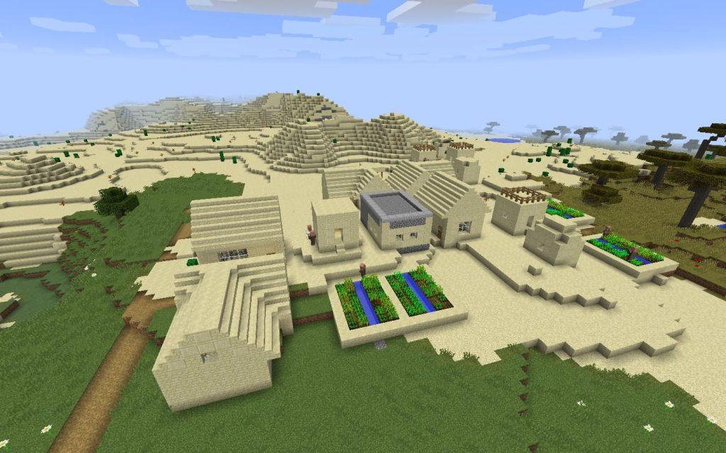 Desert Blacksmith Village Spawn
