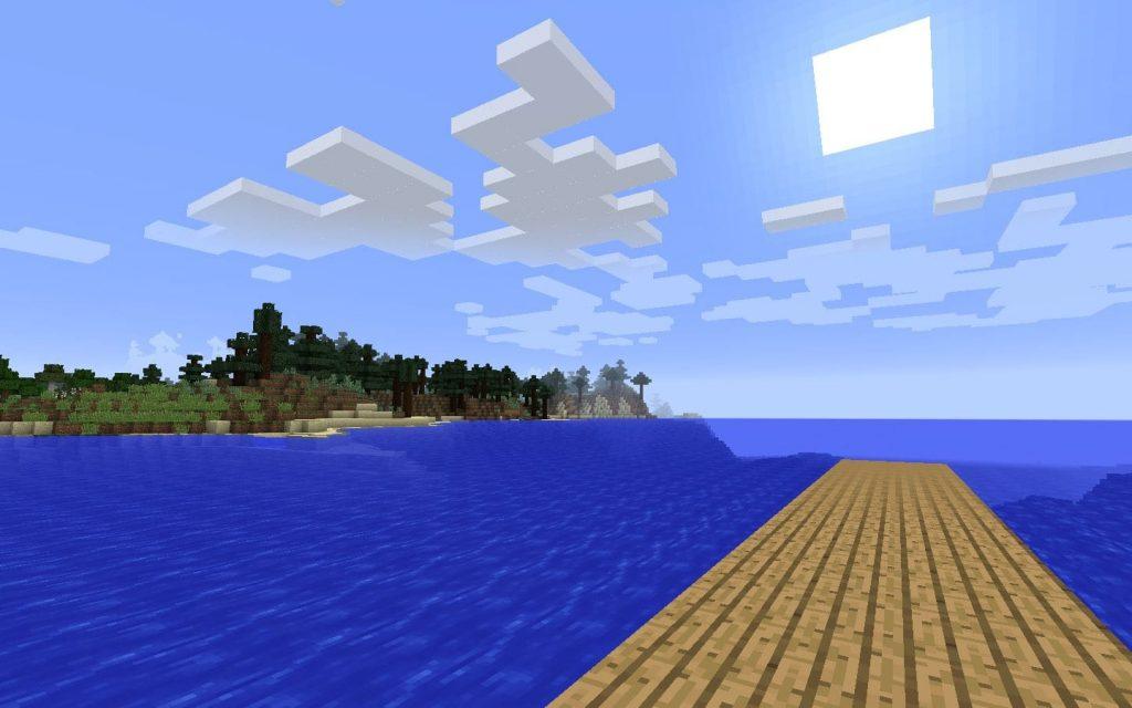 Minecraft Fishing Spot