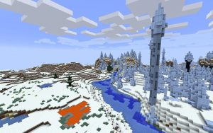 Ice Spikes Minecraft Seed Igloo