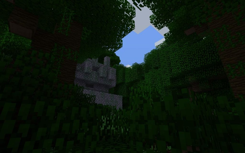 Temple View Jungle Biome