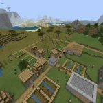 Minecraft PE City Seed Villages
