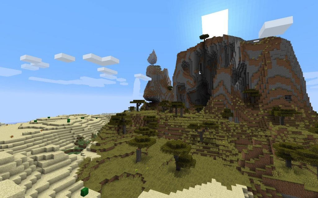 Savanna Biome Beyond Village