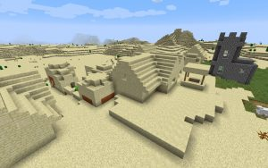 Desert Village and Temple Seed
