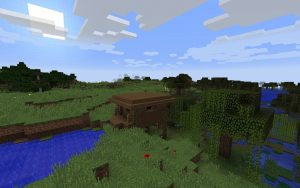 Minecraft Witch Hut Seed