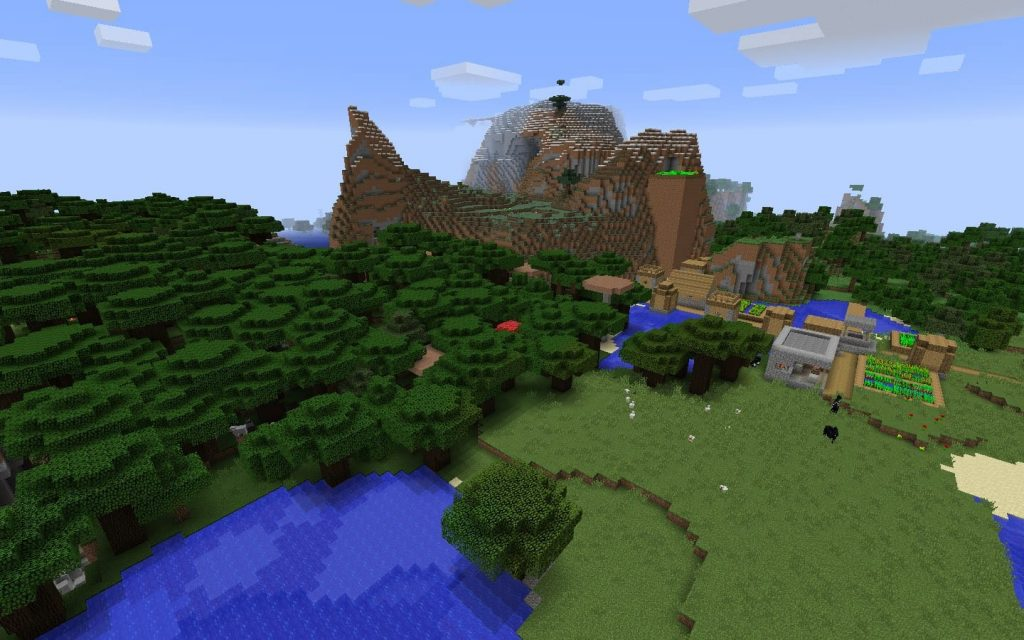 Blacksmith Village w/Iron, Diamonds, Gold