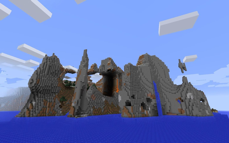 Minecraft Waterfall Seeds - Minecraft Seed HQ
