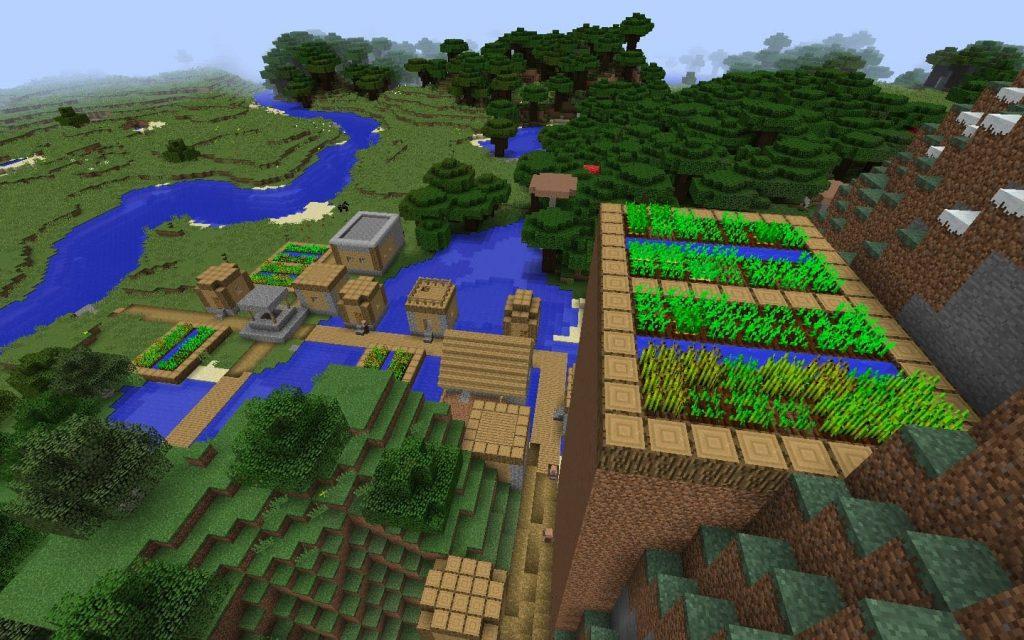 как создать новый мир с деревней в майнкрафте #6