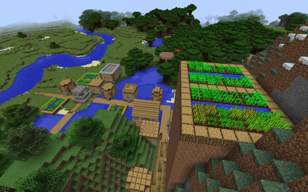 Raised Crops Blacksmith Village