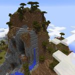Savanna Extreme Hill Spawn Minecraft Seed