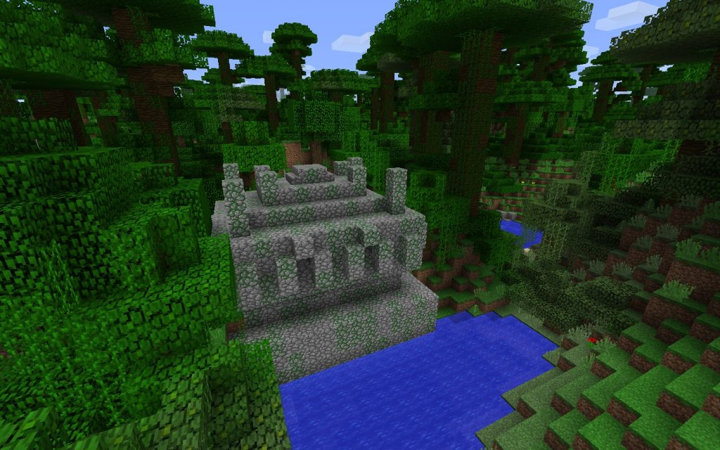 Jungle Temple near Spawn