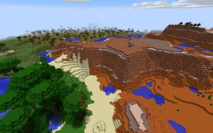 Mesa Seed for Minecraft Java Edition