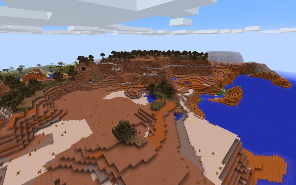 Mesa Plateau Biome