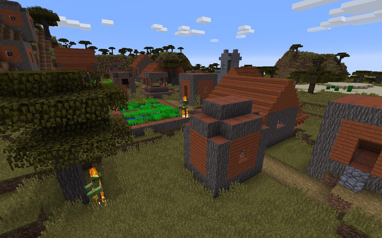 Minecraft Zombie Village Seed