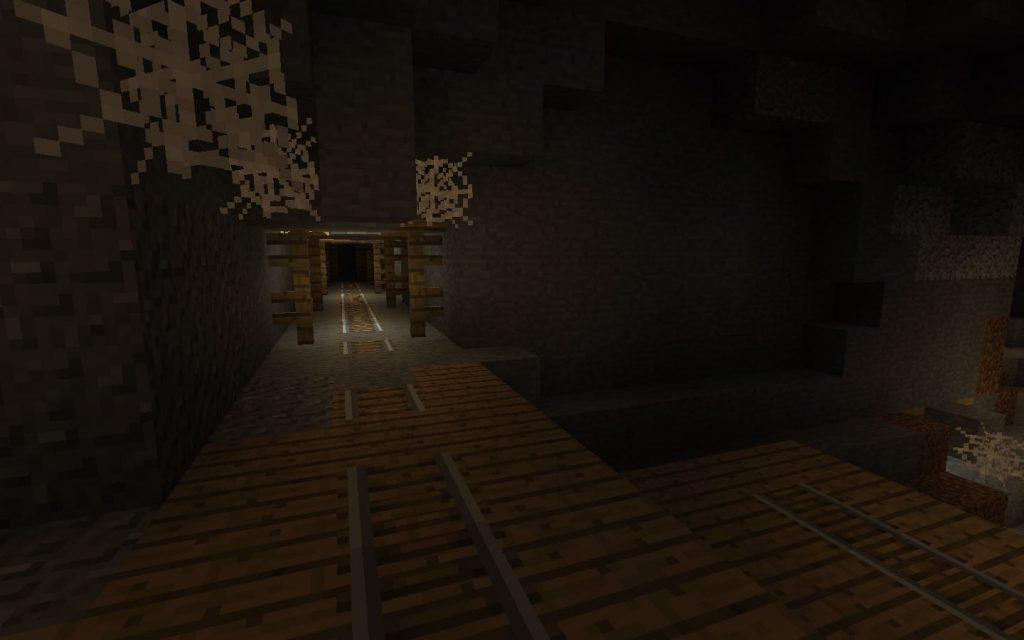 Mineshaft, Rails, Rooms