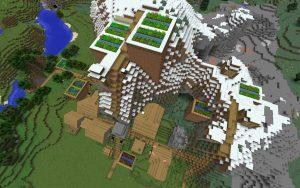 Village in Mesa Biome - Minecraft Seed HQ