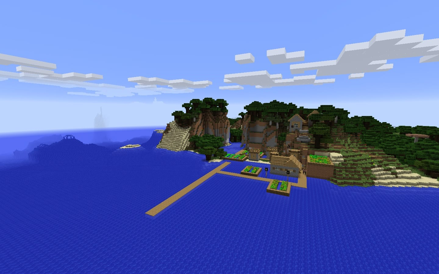 Ocean Monument Seed PC/Mac Minecraft