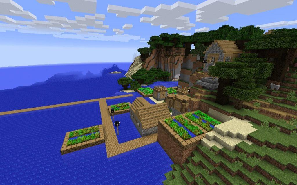 Village Cliffs Ocean Monument