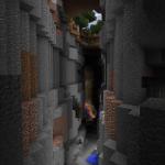 Ravine Reveals Tricky Abandoned Mineshaft
