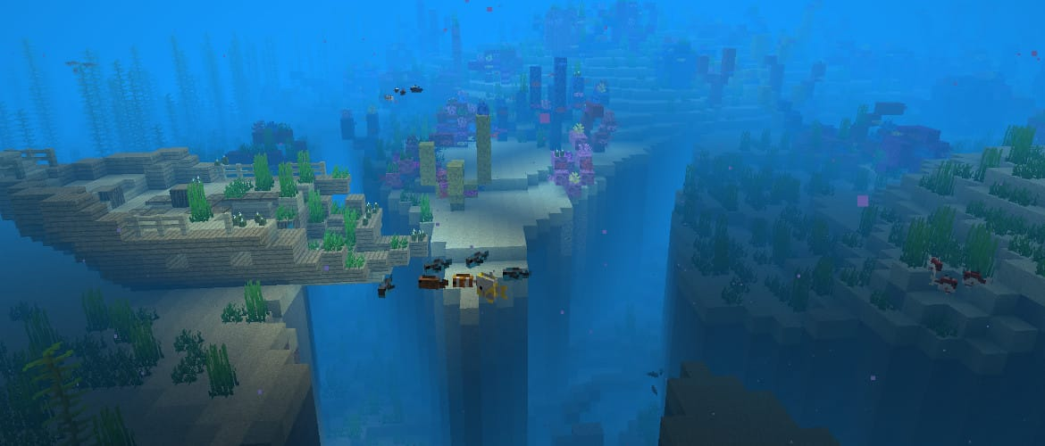 Minecraft Java Edition Update Aquatic
