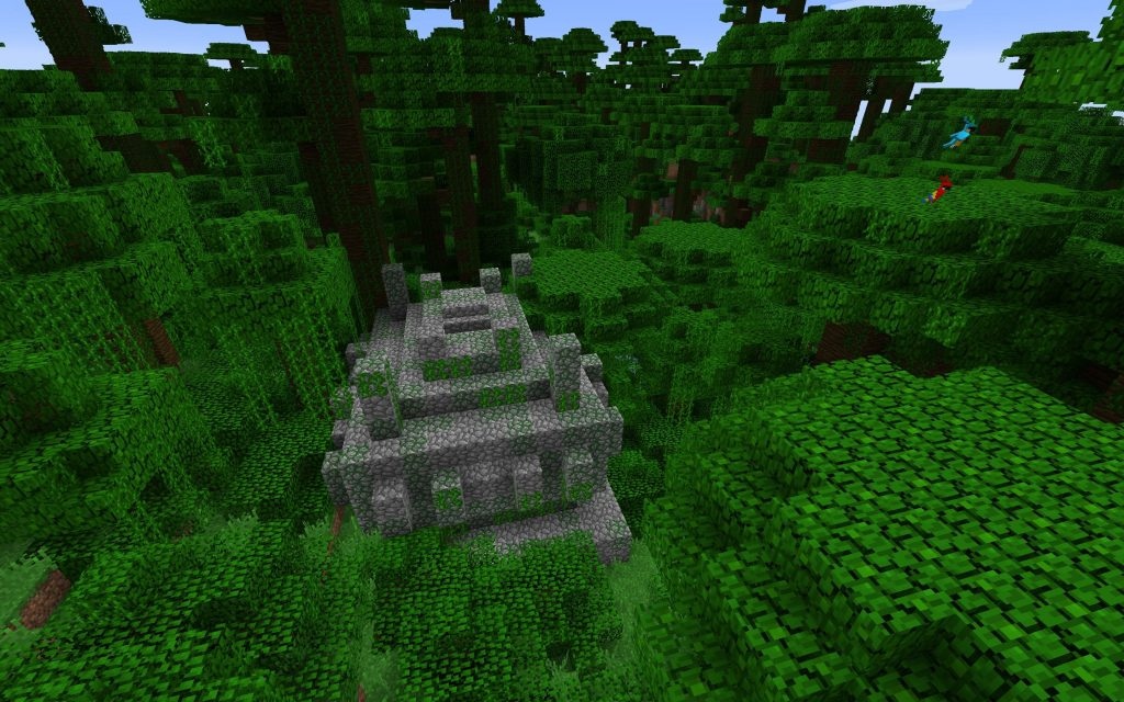 Jungle Pyramid Temple