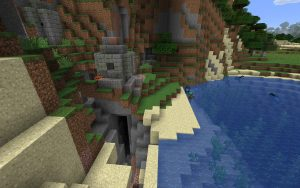 Fishing Village Complete with Ocean Ruin - Ocean Ruin Seed