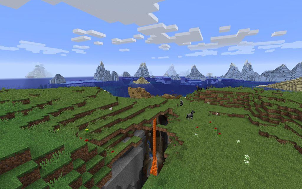 Ravine Mineshaft Icegbergs
