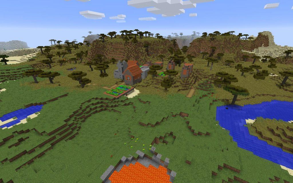 Savanna Blacksmith Village