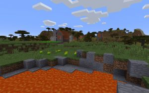 Savanna Village Minecraft Seed