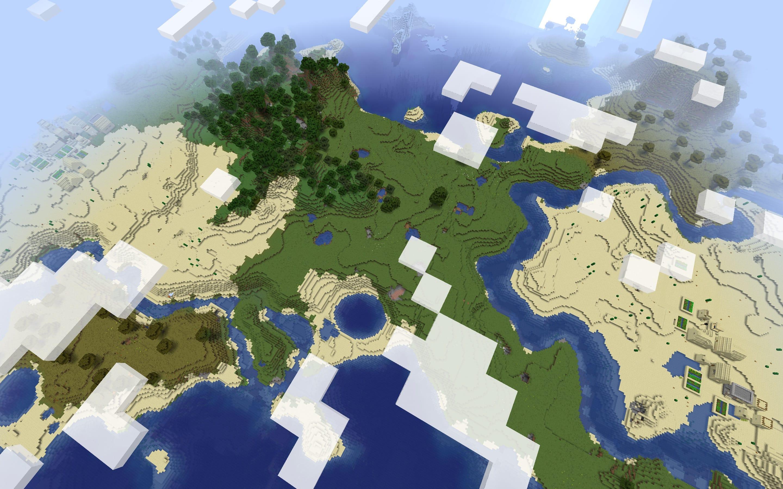2x Desert Blacksmith Village Minecraft Seed