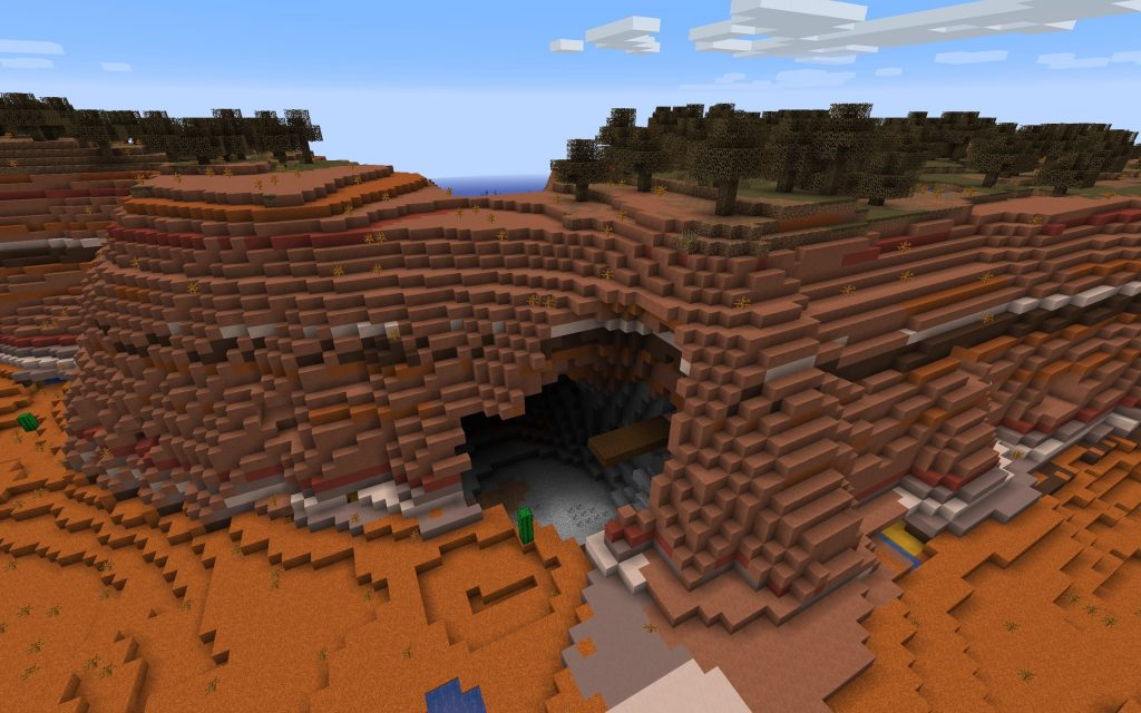 Inland: Cave with Exposed Mineshaft